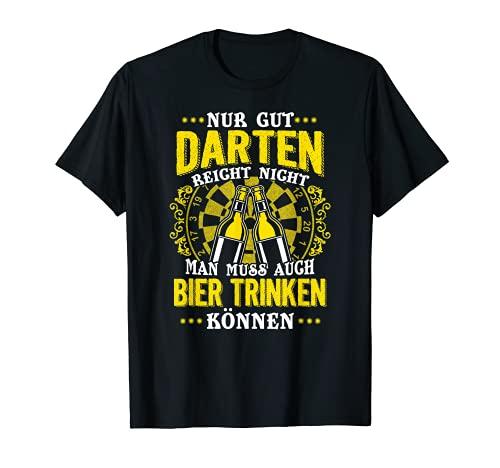 Lustiges Nur Gut Darten Reicht Nicht Für Dartspieler T-Shirt