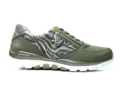 Gabor Rolling Soft Sneakers 26.968.34 Groen