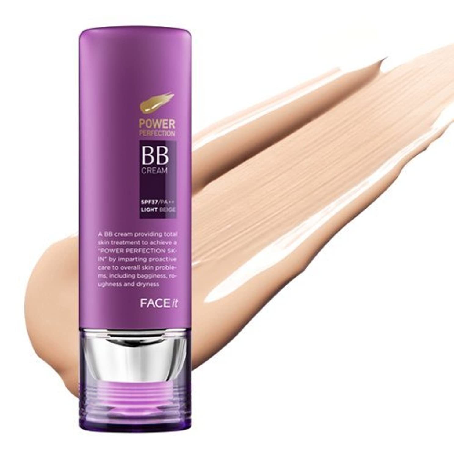 スペード補足スクリーチThe Face Shop Face It Power Perfection Bb Cream 02 Natural Beige