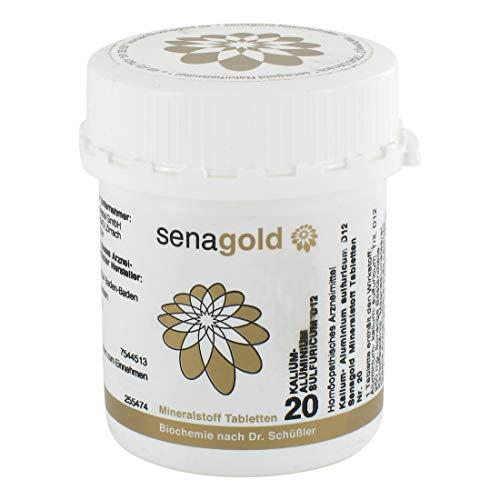 Schüßler Salz Nr.20 - Kalium alu. sulf. D12-400 Tabletten, glutenfrei