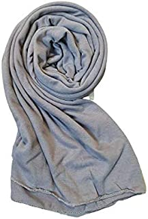 Cotton Jersey Hijab for Women Soft Long Stretchy Breathable black hijab white hijab muslim fashion Muslim Head Scarf Wrap ...