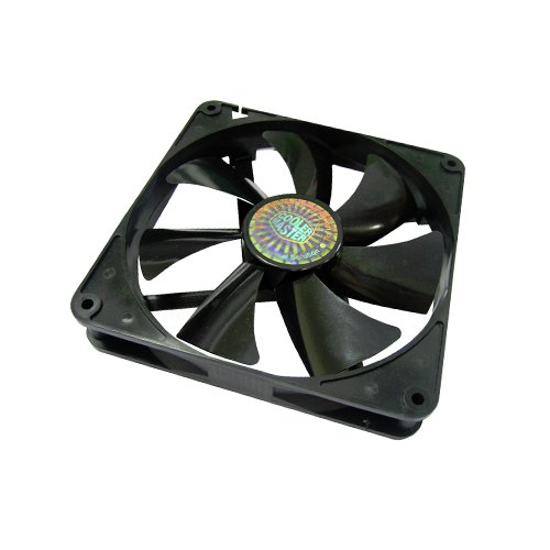 Cooler Master Sleeve Bearing 140mm Silent Fan for Computer Cases and...