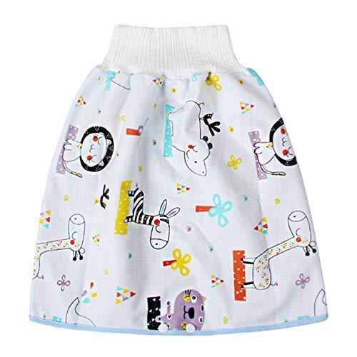 Teekit Bequeme Windelrockshorts für Kinder wasserdichte und saugfähige Shorts Comfy Childrens Diaper Skirt Shorts Waterproof and Absorbent Shorts