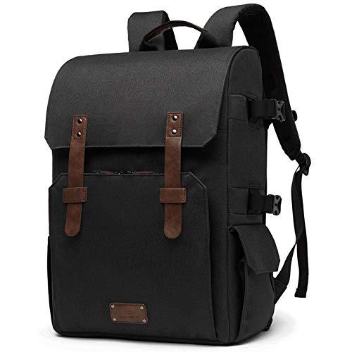 Camera Bag, BAGSMART Camera Backpack for SLR/DSLR Cameras, 15.6' Laptop with...