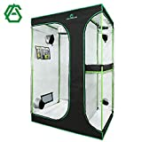 """GA 2-in-1 48""""x36""""x72"""" Mylar Reflective Grow Tent for Indoor Hydroponic Growing System"""