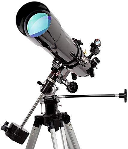 Chuihui Tragbare Teleskop, 80mm Öffnung 900mm Brennweite for Kinder und Astronomie for Anfänger, Reise-Bereich mit extrem leichten Stativ Geeignet für Raum zu beobachten