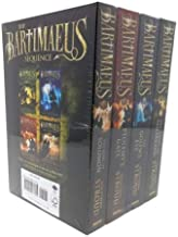 Bartimaeus Series 4 Book Set including: The Amulet of Samarkand / The Golem's Eye / Ptolemy's Gate / Ring of Solomon Prequel