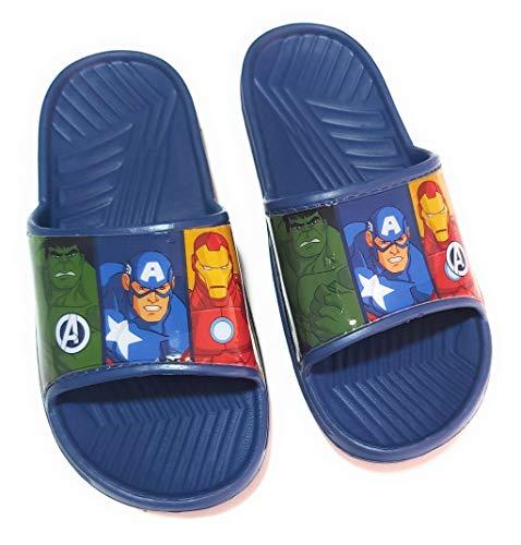 Chanclas Avengers Playa o Piscina - Flip-Flop Avengers Marvel para niños (Numeric_35)