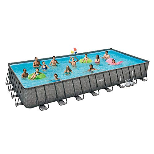 Best Summer Waves Pool Reviews - ​​Summer Waves 32ft x 16ft x 52in Above Ground Outdoor Swimming Pool