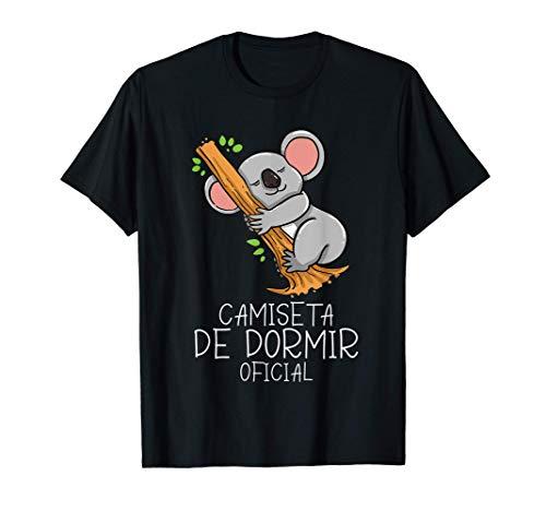 Camiseta de dormir oficial el oso koala Pijama Camiseta
