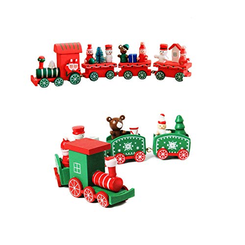 Wohlstand Plastica Multicolore Decorazione di Babbo Natale Decorazione Natalizia Mondo Natalizio Villaggio di Natale Cartone Animato Finestre in Legno Bambini Affascinanti