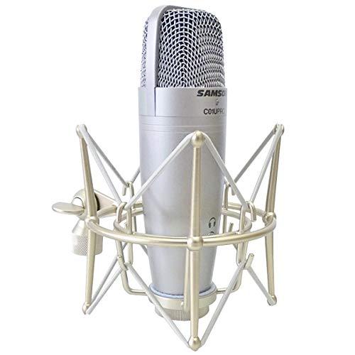 Samson C01U Pro USB - Micrófono de condensador de estudio y soporte...