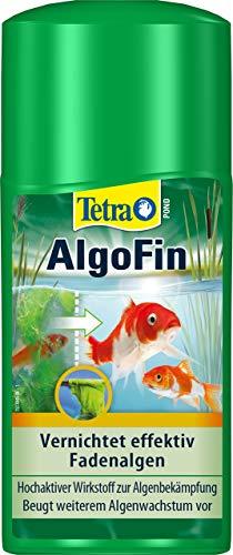 Tetra Pond AlgoFin Teich Algenvernichter - wirkt effektiv bei Fadenalgen, Schwebealgen und Schmieralgen im Gartenteich, 250 ml