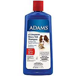 Adams d-Limonene Flea & Tick Shampoo for Cats and Dogs