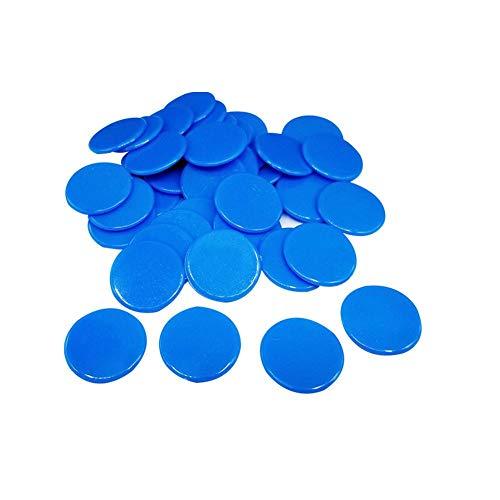 Happt 100 stücke / 19mm Pokerchips Kreative Geschenk Zubehör Kunststoff Poker Chips Casino Bingo Tag Token Unterhaltung Family Club Spiel Spielzeug