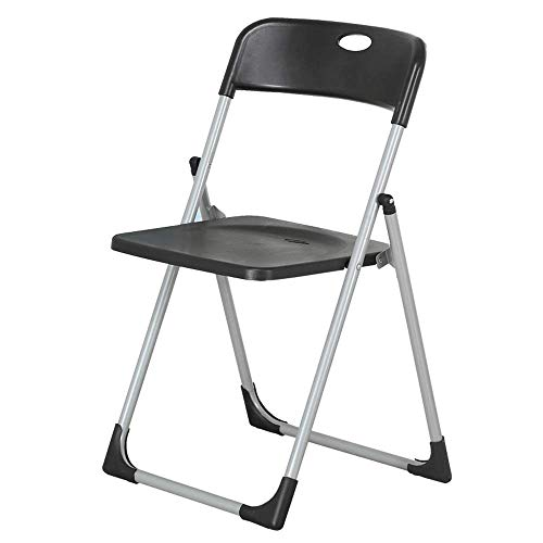 Fashion Folding Chair, Nordic Environmental Protection PP Steel Frame Creative Chair Living Room Office Meeting Chair For Camping, Festivals, Garden