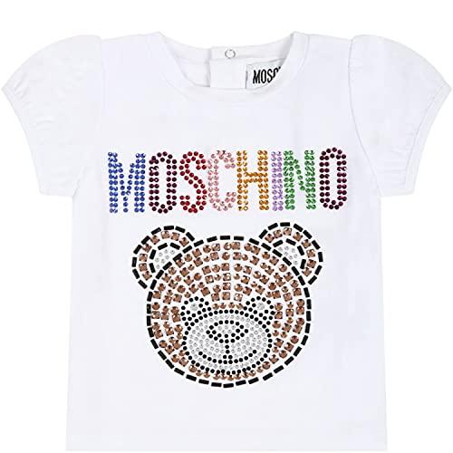 Moschino - Camiseta blanca para bebé con osito de peluche – 24...