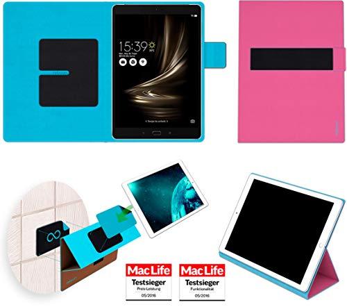 Hülle für Asus Zenpad 3S 10 Z500KL Tasche Cover Hülle Bumper | in Pink | Testsieger