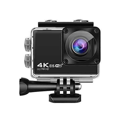 FanCheng 1080P HD cámara de acción, cámara de buceo portátil, cámara de deportes con control remoto WiFi anti-agitación.