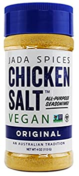 JADA Spices Chicken Salt Spice and Seasoning - Original Flavor - Vegan Keto & Paleo Friendly - Perfect for Cooking BBQ Grilling Rubs Popcorn and more - Preservative & Additive Free