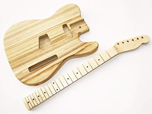 Body und Neck, Gitarrenkörper Gitarrenhals für E-Gitarre TLT5