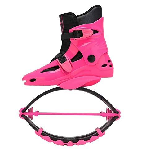 TOOSD Hombres Mujeres Zapatos de Gimnasio Saltar TPU Transpirable Profesional Deportes Salto Zapatos del Peso de Carga Range50-70KG,C,33/35