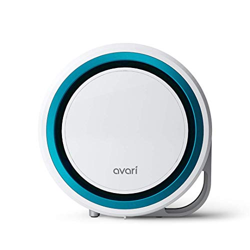 Avari 525-ESF Patented Electrostatic Air Purifier for Allergies, Smoke, Pollen, Pet Dander, Ultra-fine Dust, Dust Mites, and VOCs, Removes The widest Range of Particles Down to 0.1 microns-Blue