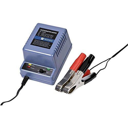 H-Tronic loodacculader AL 1600 voor 6/8/12V-BLEI 6 V, 8 V, 12 V laadstroom (max.) 1,6 A.