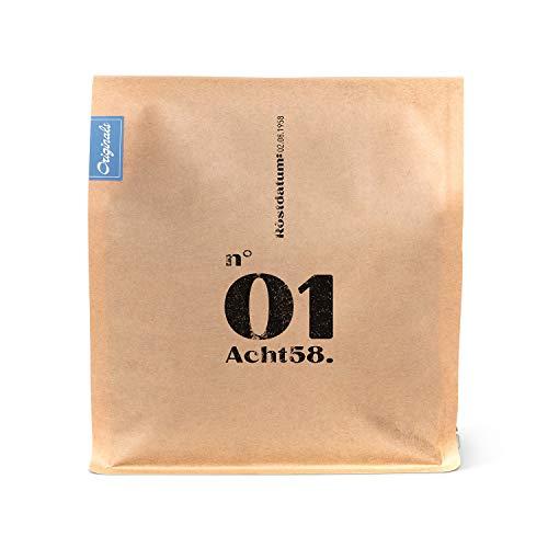 Espresso N°01 – Klassischer Espresso-Blend mit 25% Robusta - Kaffee-Bohnen für Vollautomat & Siebträger – ganze Bohnen