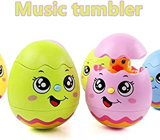 Metro Toy'S & Gift Plastic Music Tumbler Battery Operated Flashing Sounding Interactive Educational Toys, Multicolour, Pac...