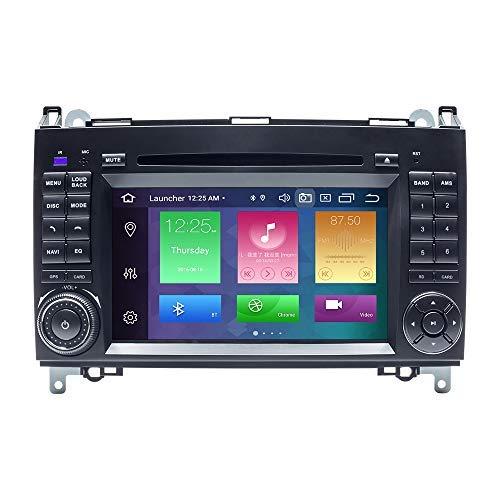 ZLTOOPAI - Lettore multimediale per auto Android 10.0 Octa Core 4G RAM 128G ROM per Mercedes-Benz W169 W245 B160/B170/B180/B200 W639 Vito Viano W906 Sprinter VW Crafter 7IN autoradio GPS Autoradio DVD