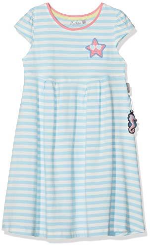 Sigikid Mädchen, Mini Kleid, Türkis (Aquatic 565), (Herstellergröße: 128)