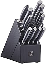 HENCKELS Knife Block Set, 13-pc, Black/Stainless