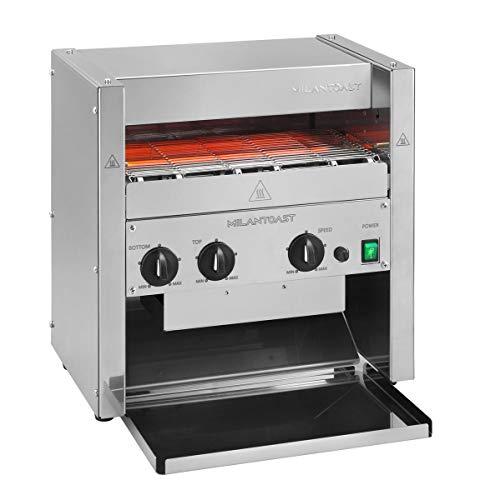 Milan Toast - Tostadora de cinta ultrasarápida 3 rebanadas 220-240 V 3,4 kW