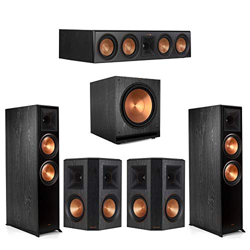 Amazing Deal Klipsch 5.1.2 Ebony Home Theater System - 2 RP-8060FA, 1 RP-504C, 2 RP-502S, 1 SPL-150...