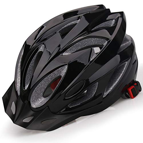 Shinmax Adult Bike Helmet,Bicycle Helmet with Removable Visor Specialized Road Mountain Bike Helmet with Head Circumference Adjustable Ultralight Cycling Helmet for Men Women Safety Protection SM-T99