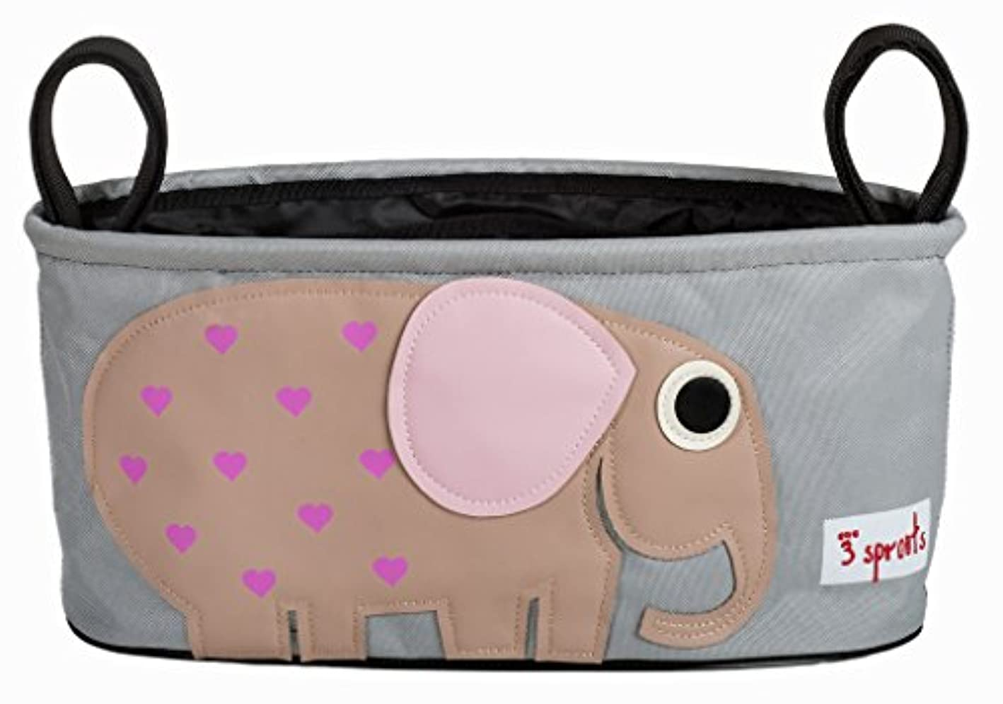 3 Sprouts Universal Stroller Organizer - Baby Jogger Caddy with Cup Holder