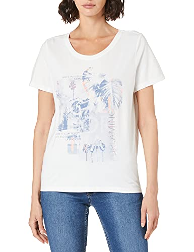 Cecil Damen 316348 T-Shirt, Pure Off White, L
