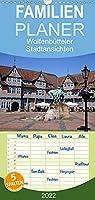 Wolfenbuetteler Stadtansichten - Familienplaner hoch (Wandkalender 2022 , 21 cm x 45 cm, hoch): 12 Stadtansichten von der Residenzstadt Wolfenbuettel (Monatskalender, 14 Seiten )