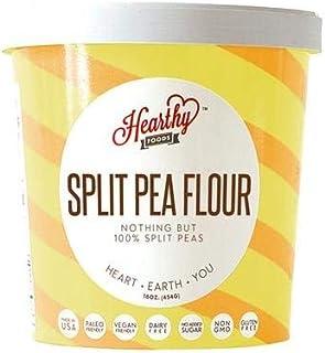 Hearthy Foods Delicious Split Pea Flour, Gluten Free, Non-GMO, Sixteen Ounces