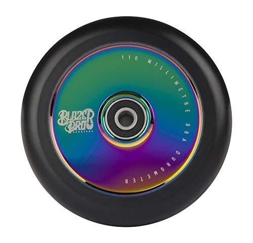 Blazer Pro Hollow 110mm W/ABEC 11 Rodamiento, Adultos Unisex, Neo Chrome (Multicolor), 110 MM