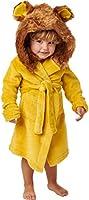 Alexander Del Rossa Kid's Soft Fleece Robe with Hood, Boys and Girls Bathrobe
