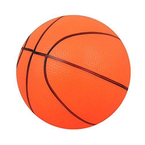 Ballon De Basket Gonflable Jouet d'enfant Match Amusant Famille Intérieures Extérieures Jeu de Sport Jeux De Ballons - Orange