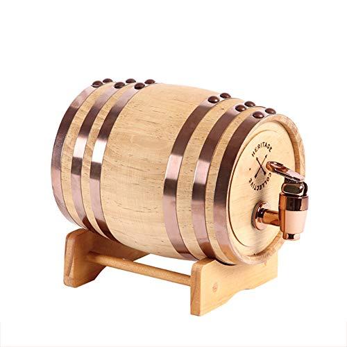 3L/5L/10L eiken vat, whisky hout eiken vat dispenser druk getest voor lekken opslag voor whisky, cognac, tequila, Rum poort, 10 liter