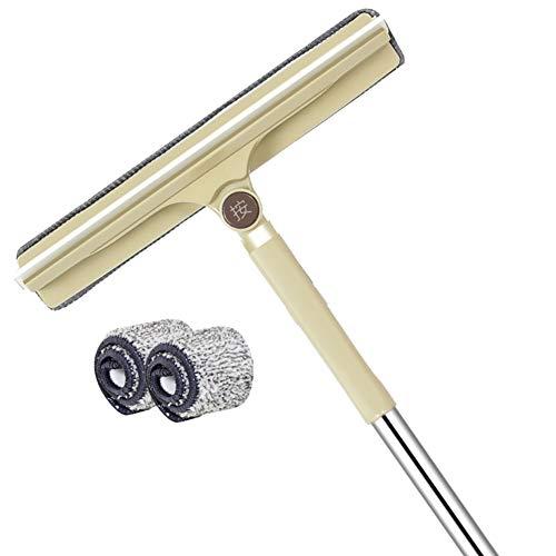 Huishoudelijke glasreinigingsartefacten, glasreinigingsdoeken, telescopische stang voor het schrapen van vloeren, glasschraper