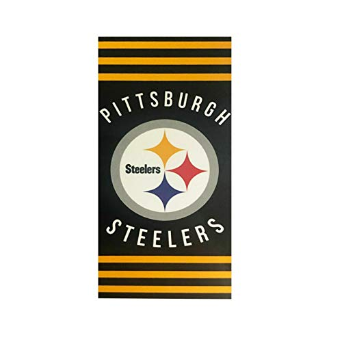 Pittsburgh Steelers NFL 1st to 6X Champs Commemorative Woven Tapestry Throw (48x60 )