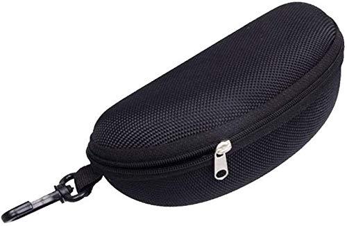Yeaser Gafas de sol caso caja de viaje portátil cremallera ojo gafas almeja Shell proteger funda dura, 1pcs
