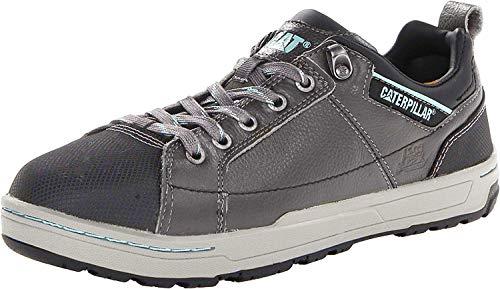 Caterpillar Footwear - Brode Women's Steel Toe Shoes - Dark Grey - 11.0 Medium