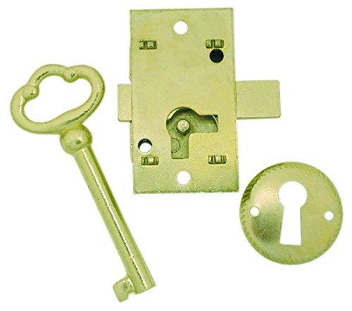 U ULTRA HARDWARE 44819 Surface Mounted Cupboard Lock, 2 x 2 x 2 inches