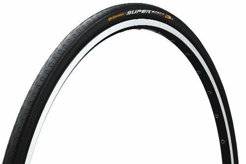 Continental SuperSport Plus - Neumático para bicicleta, 700 cm x 28 cm, color negro